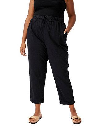 Модные пляжные брюки большого размера без застежки COTTON ON