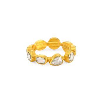 Elements 24K желтое золото и amp; Бриллиантовое кольцо Gurhan