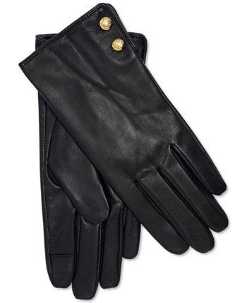 Кожаные перчатки Touch Touch Ralph Lauren