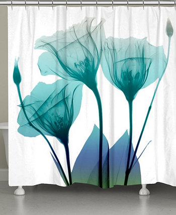 Занавеска для душа Ombre Bloom Laural Home