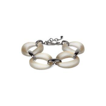 Lucite Organic Link Soft Bracelet Alexis Bittar