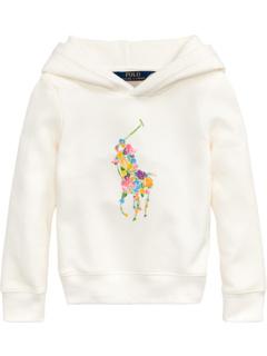 Худи из флиса с цветочным рисунком пони (Little Kids) Ralph Lauren