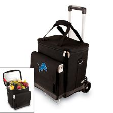 Picnic Time Detroit Lions Cellar Insulated Wine Cooler & Hand Cart Picnic Time