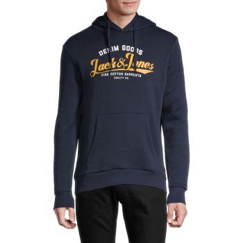 Худи стандартного кроя с логотипом Jack & Jones