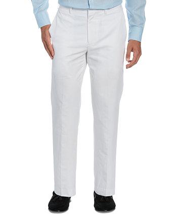 Мужские классические классические брюки с рисунком в елочку для больших и высоких Cubavera