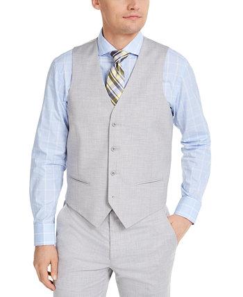 Мужской классический костюм Stretch Solid Suit жилет, созданный для Macy's Alfani