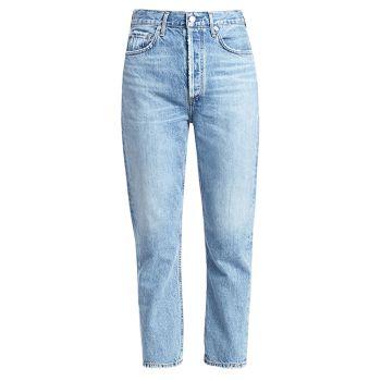Укороченные прямые джинсы Riley с высокой посадкой AGOLDE