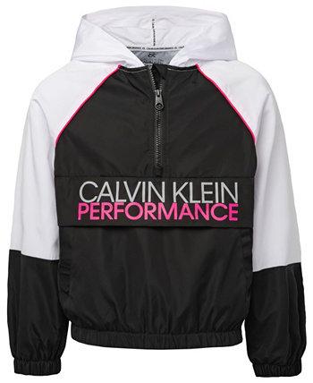 Толстовка с контрастными вставками для больших девочек Calvin Klein