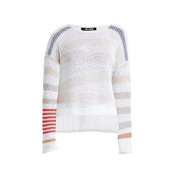 Вязаный свитер в полоску Cannon NIC+ZOE