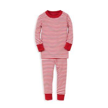 Комплект пижамы в полоску Santa Santics для маленьких мальчиков Kissy Kissy