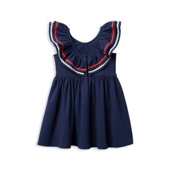 Little Girl's & Girl's Ruffle Cotton Dress Janie and Jack