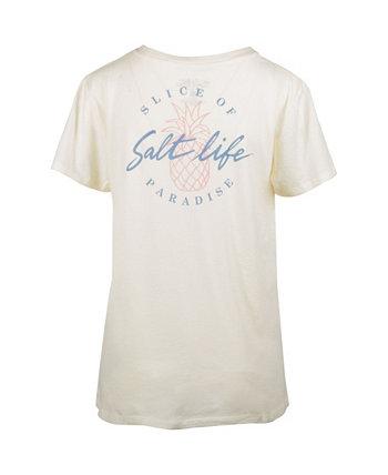 Женская футболка в стиле бойфренда Slice of Paradise Salt Life