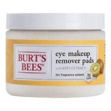 Подушечки для снятия макияжа с глаз Burt's Bees BURT'S BEES