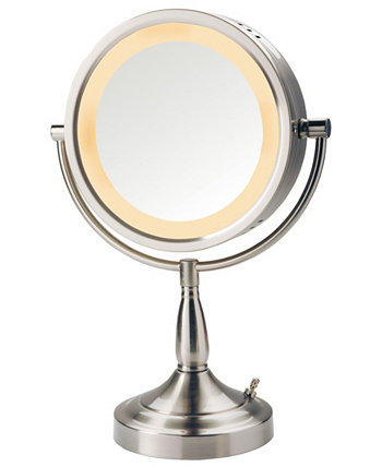LT856N 8,5-дюймовое настольное двухстороннее поворотное косметическое зеркало с подсветкой Halo Jerdon