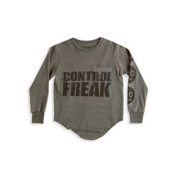Little Kid's & amp; Футболка Kid's Control Freak Nununu