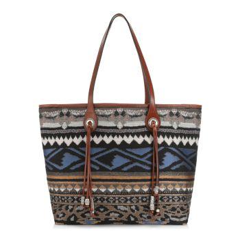 Жаккардовая сумка-шоппинг Tessuto Etro