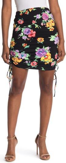 Мини-юбка со сборками WAYF