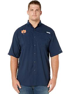 Рубашка с коротким рукавом Big & Tall Auburn Tigers Collegiate Tamiami ™ II Columbia College