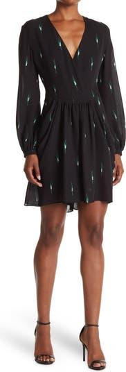 Шелковое платье с длинными рукавами Tuta Ricamata Valentino