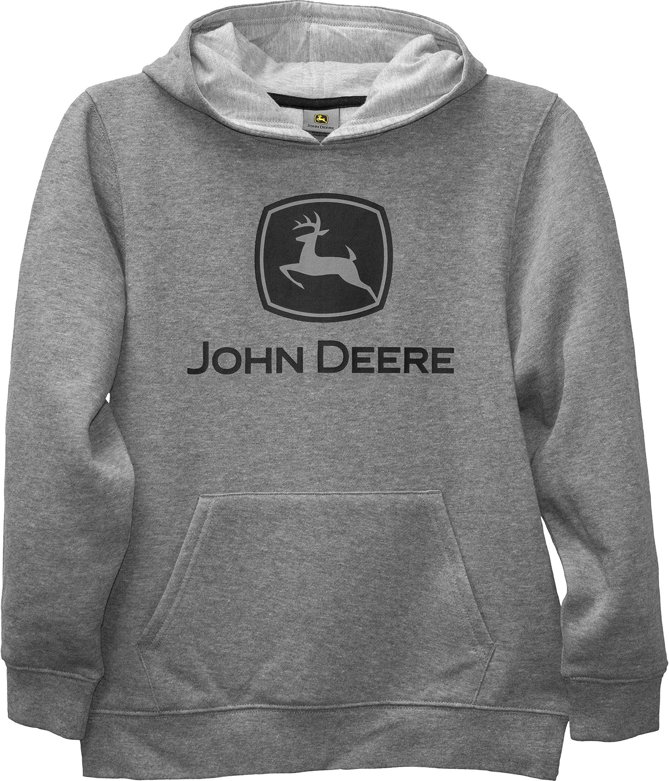 Child Fleece Pullover Hoodie John Deere