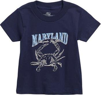 Maryland Crab T-Shirt Kid Dangerous