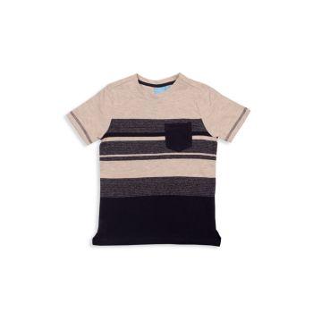 Полосатая футболка Little Boy's Zeke BEAR CAMP