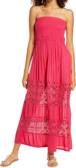 Макси-платье со сборками и накидкой Farrah Chelsea28