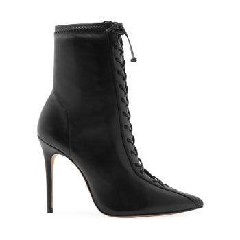 Кожаные ботинки Tennie на шнуровке Schutz