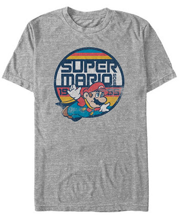 Мужская футболка Super Mario Flying Mario с коротким рукавом Nintendo