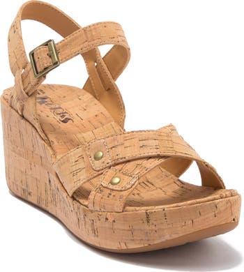 Curacao Platform Wedge Sandal Korks