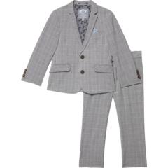 Двухкомпонентный эластичный модный костюм в клетку (для малышей / маленьких детей / детей старшего возраста) Appaman Kids