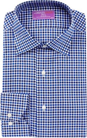 Оксфордская классическая рубашка с отделкой Lorenzo Uomo