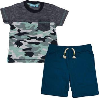 Комплект футболки и шорт с коротким рукавом BEAR CAMP
