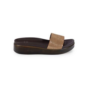 Fiji Slip-On Wedge Sandals Donald J Pliner