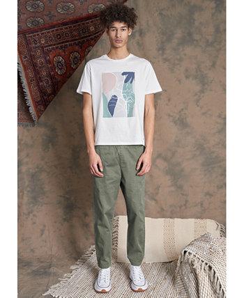 Мужская футболка с абстрактным принтом в виде блоков NATIVE YOUTH