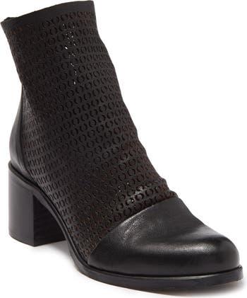 Кожаные ботинки Halayna с лазерной резкой RON WHITE