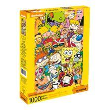 Водолей Nickelodeon 90-х Мультяшный пазл из 1000 деталей Aquarius
