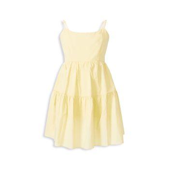 Girl's Amelie Tiered Dress Bardot Junior