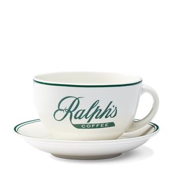 Кофейная чашка Ральфа и размер блюдца Ralph Lauren
