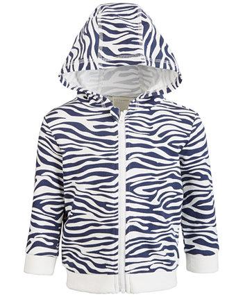 Толстовка с капюшоном Baby Boys Zebra, созданная для Macy's First Impressions