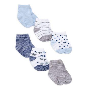 Baby's Funny Stars 6-Piece Socks Set Aden + anais