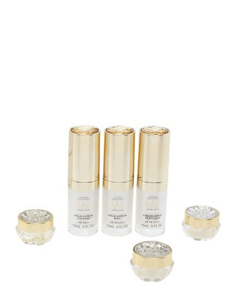 Набор из 6 предметов для начинающих Gems Travel Kit. Конопляное масло Tiffany Andersen Brands
