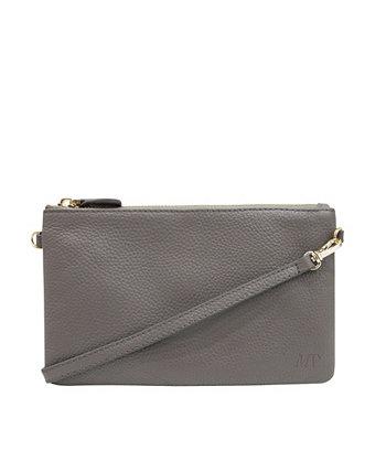 Классическая сумка через плечо со встроенным зарядным устройством для телефона Mighty Purse