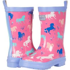 Сапоги от дождя с росписью для пастбищ (для малышей / маленьких детей) Hatley Kids