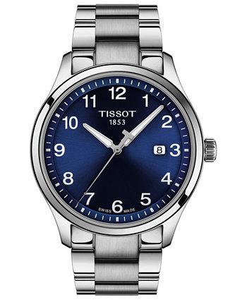 Мужские часы Swiss Gent XL из нержавеющей стали с браслетом, 42 мм Tissot