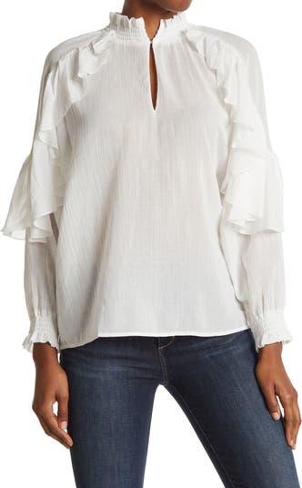 Блуза Letreo с оборками Maje