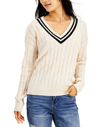 Вязаный вязаный свитер для юниоров Hooked Up by IOT
