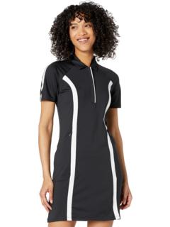 Short Sleeve Color-Block Dress Callaway