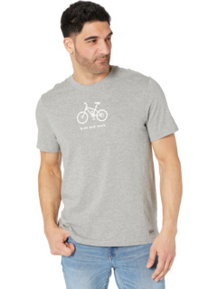 Ride and SeeVintage Crusher Tee Life is Good