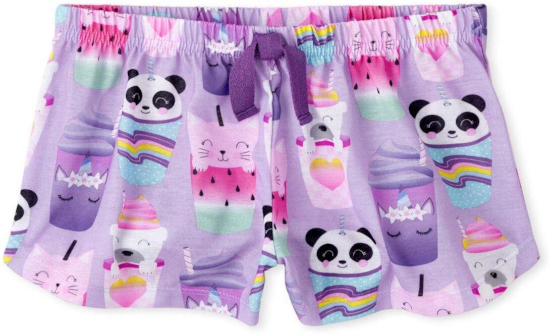 Пижамные шорты с принтом (для детей младшего и школьного возраста) The Children's Place